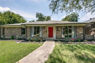 Dallas Single Family Home Active Option Contract: 7023 Allview Lane