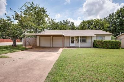 Euless Single Family Home Active Option Contract: 1026 Donley Drive