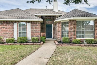 Rowlett Single Family Home Active Option Contract: 2601 Trumpet Drive