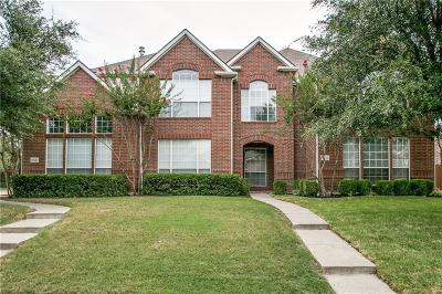 Frisco Townhouse Active Option Contract: 11523 Still Hollow Drive