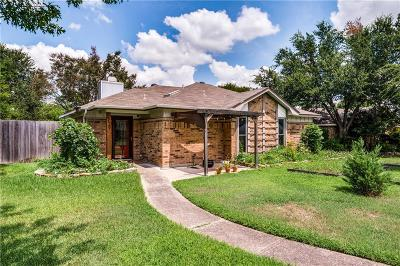 Carrollton Single Family Home Active Option Contract: 2729 Oak Trail