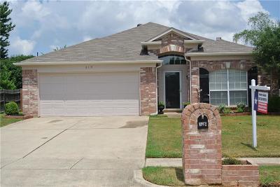 Lake Dallas Single Family Home For Sale: 319 Stately Oak Lane