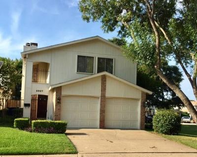 Garland Single Family Home Active Option Contract: 2927 Antares Circle