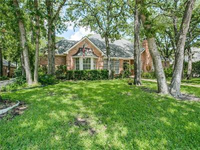 Denton Single Family Home For Sale: 7 Wellington Oaks Circle