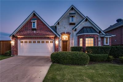 Mckinney Single Family Home Active Option Contract: 8601 Riverwalk Trail