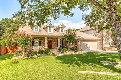 Grapevine Single Family Home Active Option Contract: 956 Fall Creek