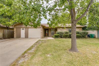 Denton Single Family Home Active Option Contract: 3507 Bob O Link Lane