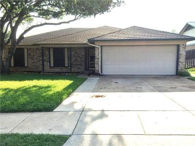 Saginaw Single Family Home Active Option Contract: 536 Roberts Drive