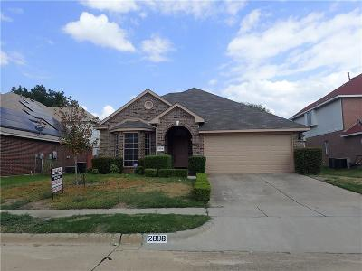 Corinth Single Family Home Active Option Contract: 2808 Wandering Oak Drive