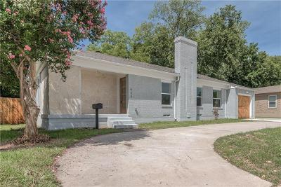 Dallas Single Family Home For Sale: 655 Peavy Road