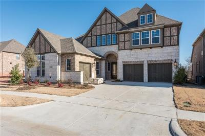 McKinney Single Family Home For Sale: 6909 Golf Club Drive