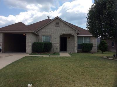 Waxahachie Single Family Home Active Option Contract: 636 Jordan Lane