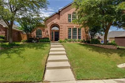 Frisco Single Family Home Active Contingent: 15830 Twin Cove Drive