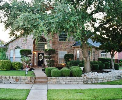 Coppell Single Family Home Active Option Contract: 722 Crestwood Drive