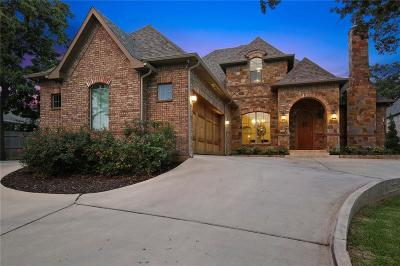 Single Family Home For Sale: 6801 Woodland Hills Drive