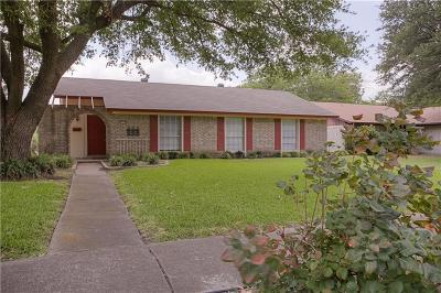 Garland Single Family Home Active Option Contract: 3018 Burning Tree Lane