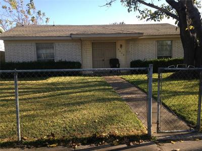 Dallas Single Family Home For Sale: 9636 Glengreen Drive