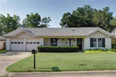 Hurst Single Family Home Active Option Contract: 749 Toni Drive