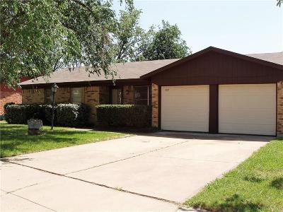 Watauga Single Family Home Active Option Contract: 6329 Saramac Drive