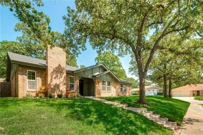Bedford, Euless, Hurst Single Family Home Active Option Contract: 2908 Spring Oaks Court