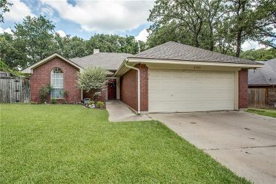 Denton Single Family Home Active Option Contract: 2409 Oak Park Drive