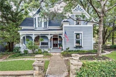 McKinney Single Family Home For Sale: 805 Howell Street