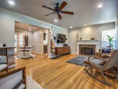 Dallas Single Family Home Active Option Contract: 6250 Anita Street