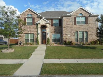 Forney Single Family Home For Sale: 817 Mallard Drive