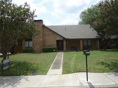 Lewisville Single Family Home For Sale: 1810 Santa Fe