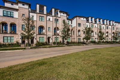Irving Townhouse For Sale: 724 Sid Rich Drive