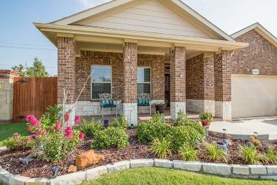 Denton Single Family Home For Sale: 5901 Glenwood Drive
