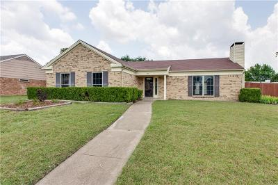 Garland Single Family Home Active Option Contract: 909 Melissa Lane