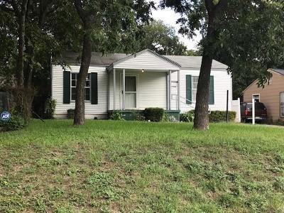 Dallas Single Family Home For Sale: 1711 Garza Avenue