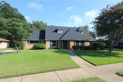 Farmers Branch Single Family Home Active Contingent: 3121 Brincrest Drive