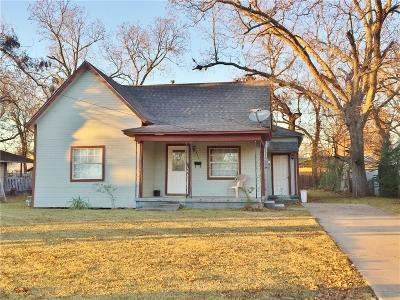 Single Family Home For Sale: 311 W Moore Street
