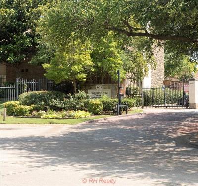 Dallas Condo For Sale: 5626 Preston Oaks Road #47A