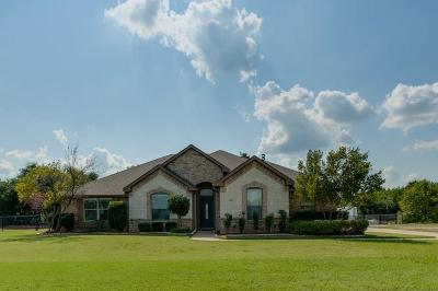 Weatherford Single Family Home Active Option Contract: 109 Miramar Circle
