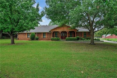 Sherman Single Family Home For Sale: 1062 Jp Cave Road
