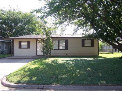 Richland Hills Single Family Home Active Option Contract: 2808 Fir Park