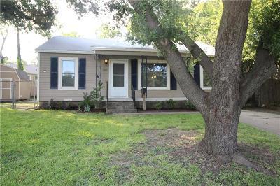 River Oaks Single Family Home Active Option Contract: 1605 Long Avenue