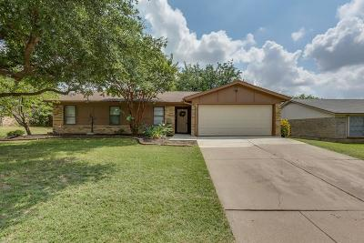 North Richland Hills Single Family Home Active Option Contract: 7012 Green Ridge Trail