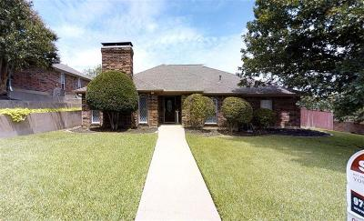 Carrollton Single Family Home For Sale: 1711 Sutters Mill Drive