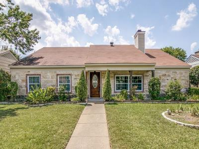 Garland Single Family Home Active Option Contract: 2909 Riviera Drive