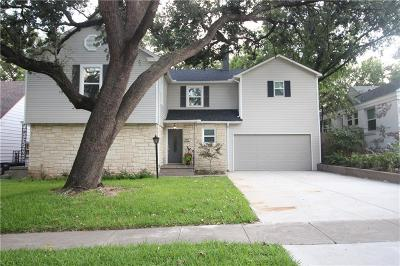 Fort Worth Single Family Home For Sale: 4231 Birchman Avenue
