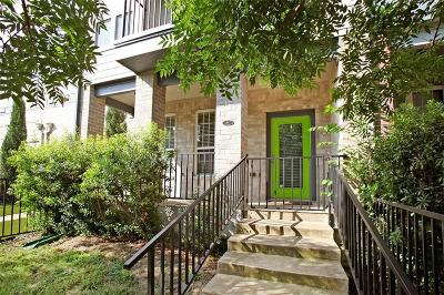 Dallas Townhouse For Sale: 1817 S Ervay Street