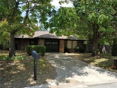 Denton Single Family Home For Sale: 1401 Stanefer Circle