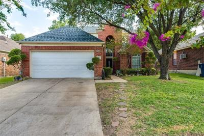 Garland Single Family Home Active Option Contract: 1530 Cross Courts Drive