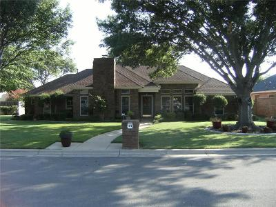 Abilene Single Family Home For Sale: 1418 Lakeview Road