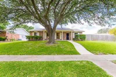 Dallas Single Family Home For Sale: 7114 Lost Canyon Drive