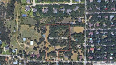 Keller Residential Lots & Land For Sale: 1929 Florence Road